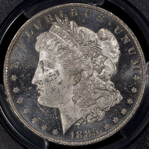 1885-O Morgan Dollar - PCGS MS 62 DMPL