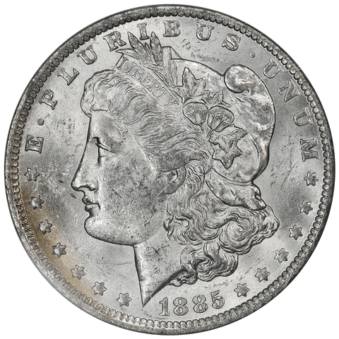 1885-O Morgan Dollar - NGC Brilliant Uncirculated - Binion Collection
