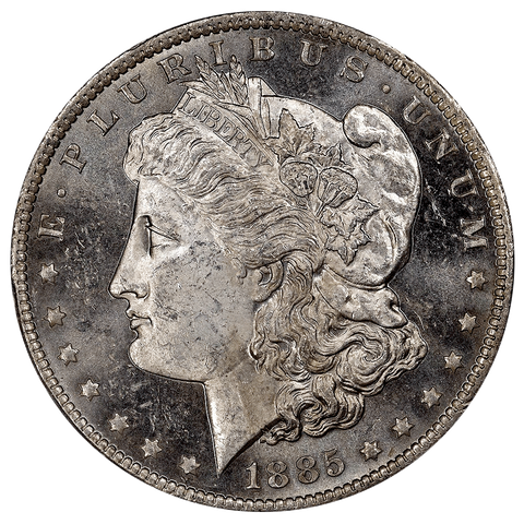 1885-O Morgan Dollar - PCGS MS 63 PL