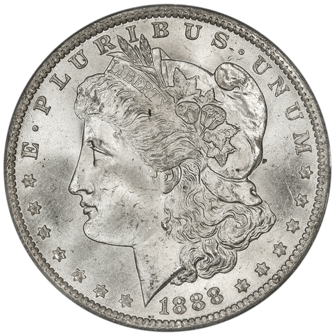 1888-O Morgan Dollar - PCGS MS 65 - Gem Uncirculated