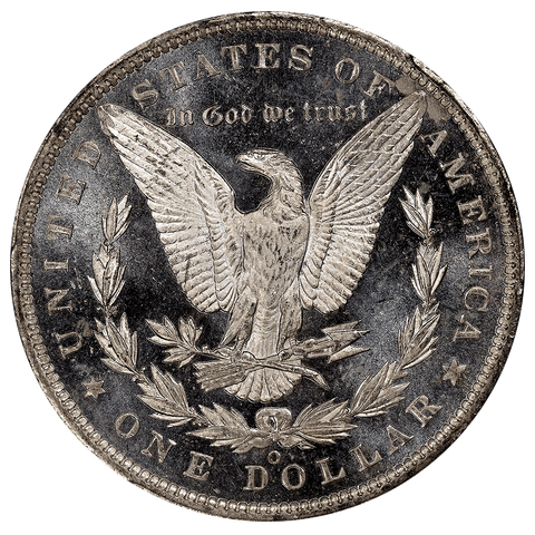 1888-O Morgan Dollar - PCGS MS 62 DMPL