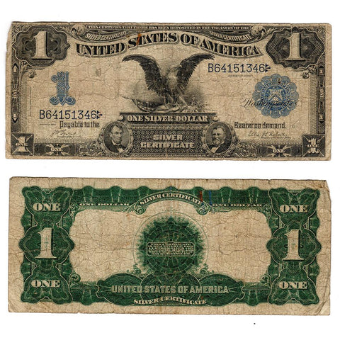 1899 Black Eagle $1 Silver Certificate Fr.226 Date Above - Very Good