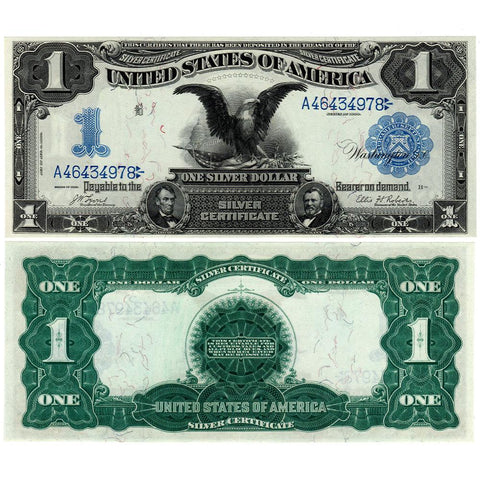 1899 Black Eagle $1 Silver Certificate Fr.226a - Choice Crisp Uncirculated