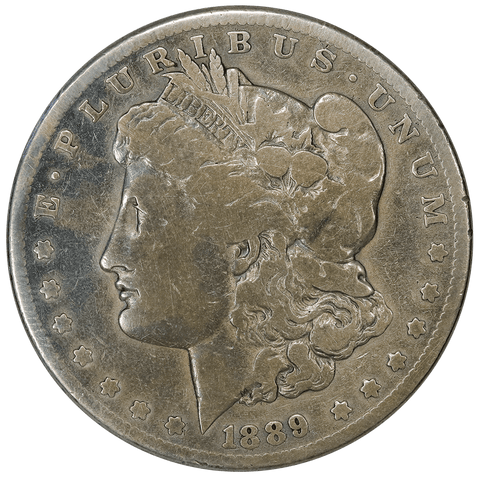 1889-CC Morgan Dollar - Good+ - Mintage of 350,000