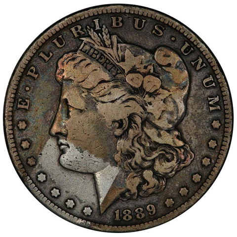 1889-S Morgan Dollar - Very Good+