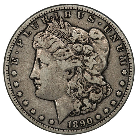 1890-CC Morgan Dollar - Very Fine Detail