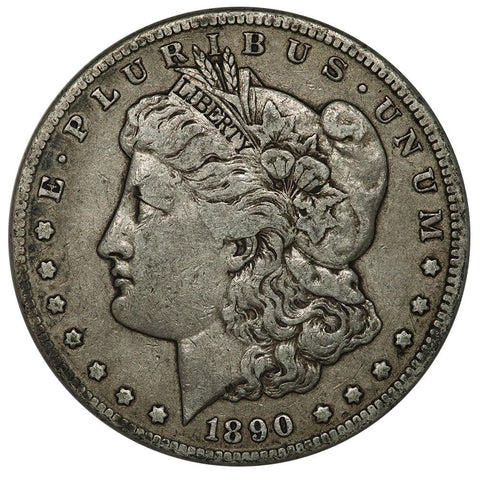 1890-CC Morgan Dollar - Very Fine - Carson City