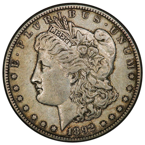 1892-S Morgan Dollar - Nominal Very Fine