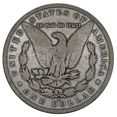 1892-S Morgan Dollar - Very Good