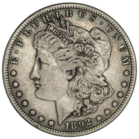 1892-S Morgan Dollar - Very Fine - Semi-Key Date
