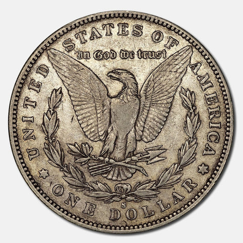 1892-S Morgan Dollar - Extremely Fine+