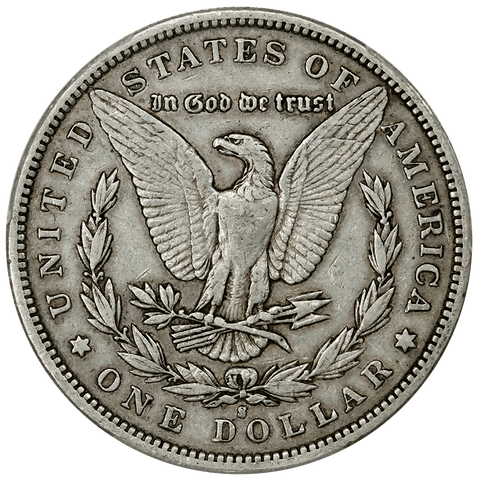 1892-S Morgan Dollar - PCGS VF 25 - Semi-Key Date