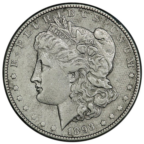 1893-O Morgan Dollar - Very Good Details - Tougher Date