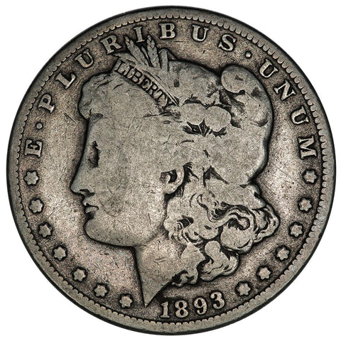 1893-O Morgan Dollar - Very Good - Tougher Date