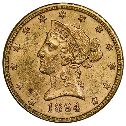 1894 $10 Liberty Gold Eagle - Uncirculated