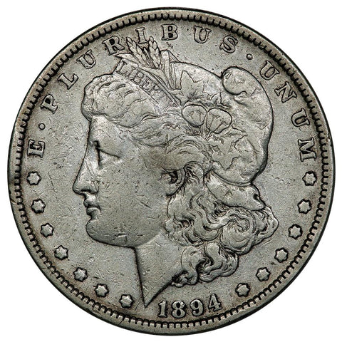 1894 Morgan Dollar - Nominal Very Fine- Philly Mint Key Date