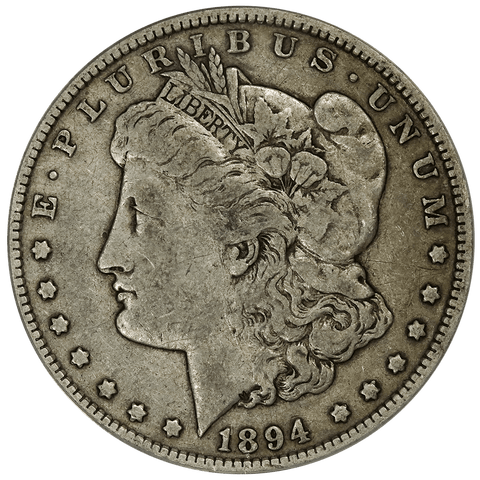 1894 Morgan Dollar - ANACS VF 20 - Philly Mint Key Date