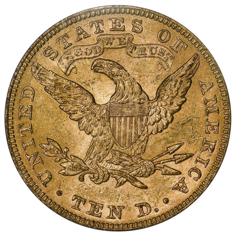1895 $10 Liberty Gold Eagle - PCGS MS 62 - Brilliant Uncirculated