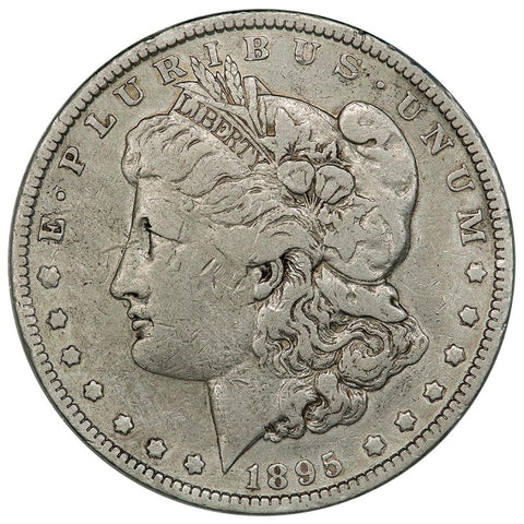 1895-O Morgan Dollar - Fine - 450,000 Coin Mintage