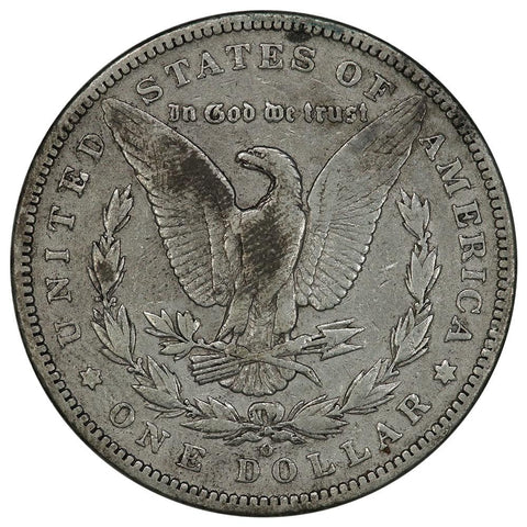 1895-O Morgan Dollar - Fine+ - 450,000 Coin Mintage