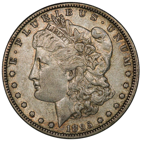 1895-O Morgan Dollar - About Uncirculated+