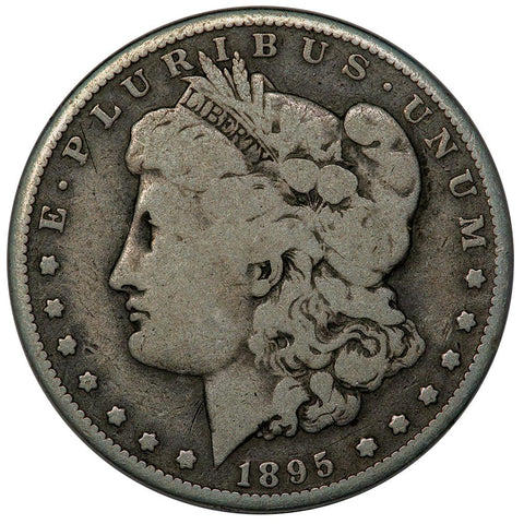 1895-O Morgan Dollar - Very Good - 450,000 Coin Mintage