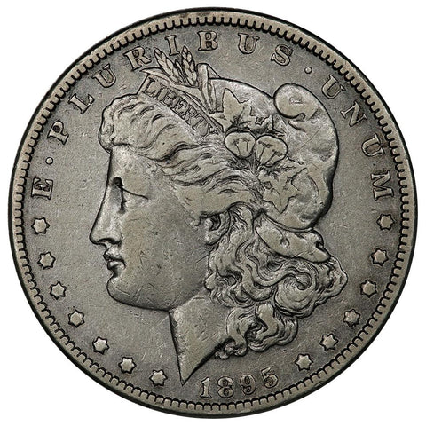 1895-O Morgan Dollar - Very Fine - 450,000 Coin Mintage