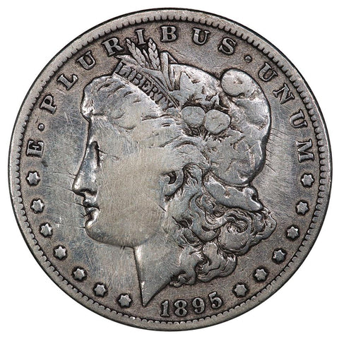 1895-O Morgan Dollar - VG Details (Repaired) - 450,000 Coin Mintage