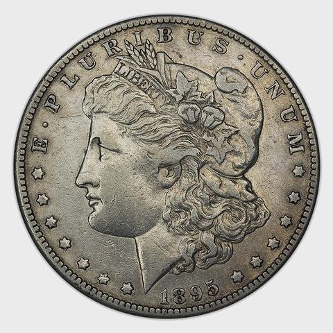 1895-S Morgan Dollar - Semi-Key Date, Low Mintage - Extremely Fine