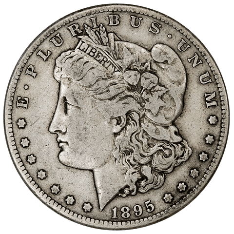 1895-S Morgan Dollar - Very Fine - Mintage of 400,000