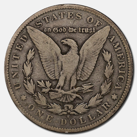 1895-S Morgan Dollar - Strong Very Good