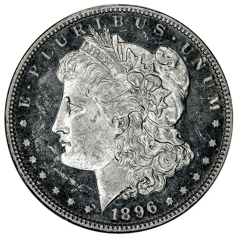 1896 Morgan Dollar - PCGS MS 63 DMPL
