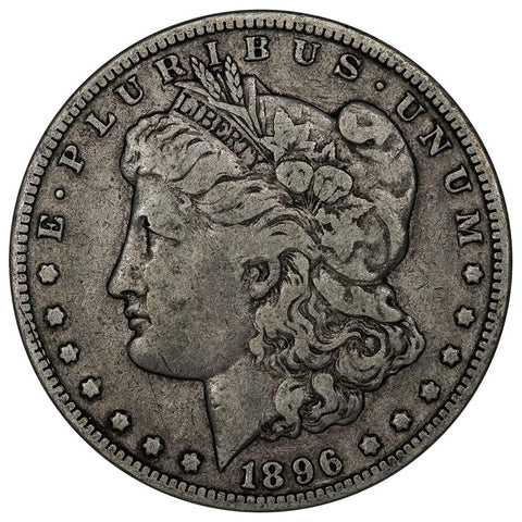 1896-O Morgan Dollar - Fine