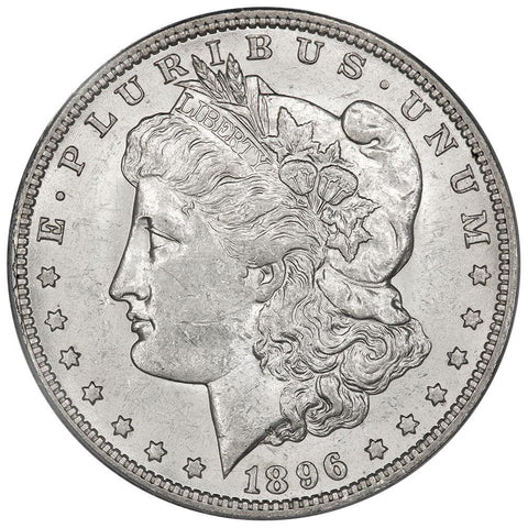 1896-O Morgan Dollar - PCGS AU 58 - Choice About Uncirculated
