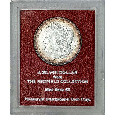 1897 Morgan Dollar - Redfield Collection MS 65