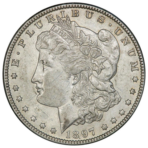 1897-O Morgan Dollar - About Uncirculated+