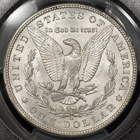 1898-O Morgan Dollar ~ PCGS MS 66 ~ A True PQ Stunner