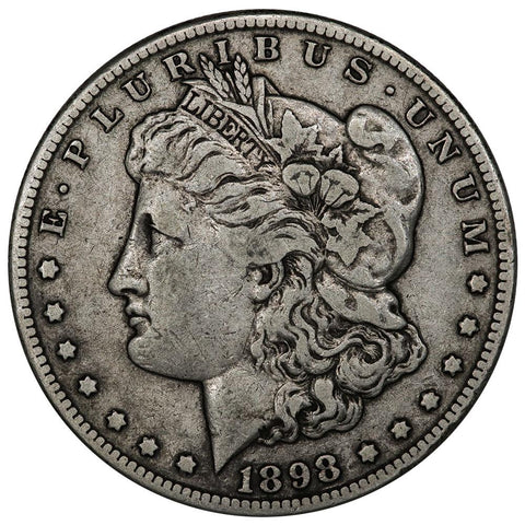 1898-S Morgan Dollar - Very Fine