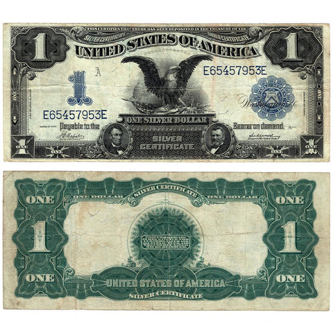 1899 Black Eagle $1 Silver Certificate Fr.230 - Very Fine