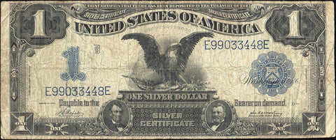 1899 Black Eagle $1 Silver Certificate Fr.230 - Very Good/Fine