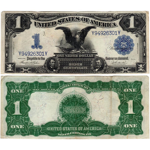 1899 Black Eagle $1 Silver Certificate Fr. 233 - Very Fine