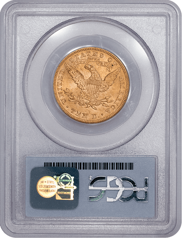 1899 $10 Liberty Gold Eagle - PCGS MS 62 - Brilliant Uncirculated