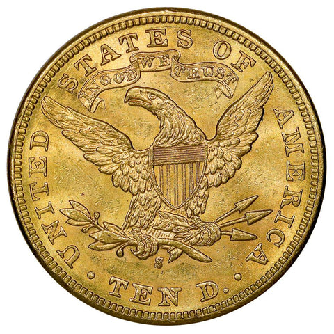 1899-S $10 Liberty Gold Eagle - Brilliant Uncirculated