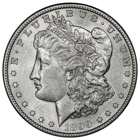 1899-S Morgan Dollar - About Uncirculated+