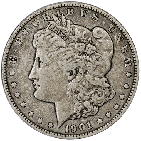 1901 Morgan Dollar - PCGS VF 25 - Very Fine