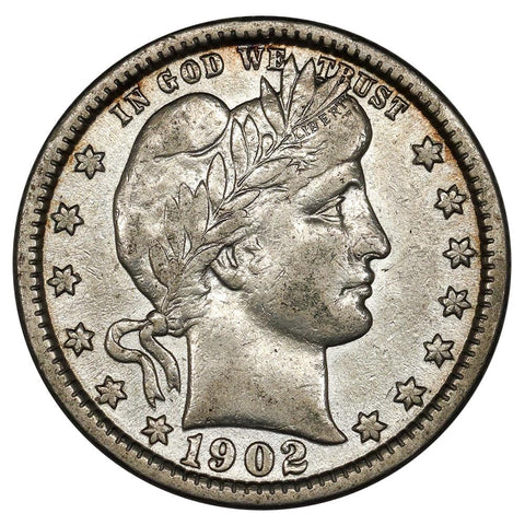 1902 Barber Quarter - Extremely Fine