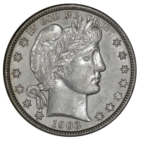1903 Barber Half Dollar - About Uncirculated