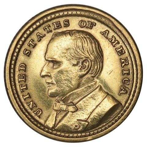 1903 McKinley/LA Purchase Expo $1 Gold Commemorative - AU Details