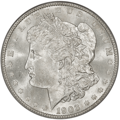1903 Morgan Dollar - PCGS MS 65 - Gem Uncirculated