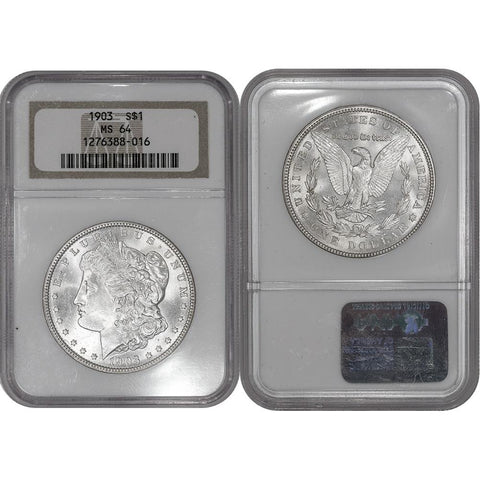 1903 Morgan Dollar - NGC MS 64 - Choice Brilliant Uncirculated